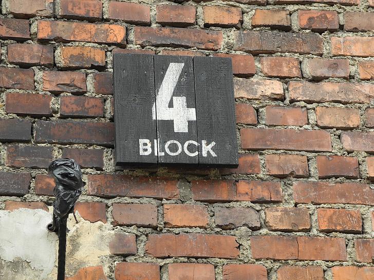concentration camp, poland, block 4, auschwitz