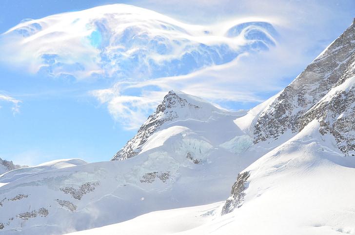 Suïssa, part superior d'espectaculars, blanc espectaculars, neu espectaculars, Interlaken, Jungfrau, Lucerna