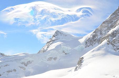 Swiss, Top van mountin, witte mountin, Snow mountin, Interlaken, Jungfrau, Luzern