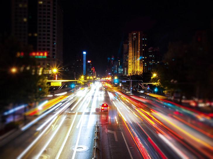 night view, automotive, light