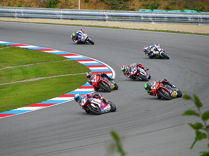 carreres, moto de competició, bicicleta de carreres, esports, ràpid, cursa, moto