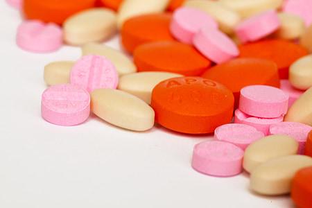 addicció, antibiòtic, càpsula, l'atenció, colors, drogues, salut