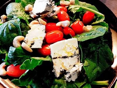 샐러드, 건강, 야채, 먹는, 음식, 자연 식품, 건강에 좋은 음식