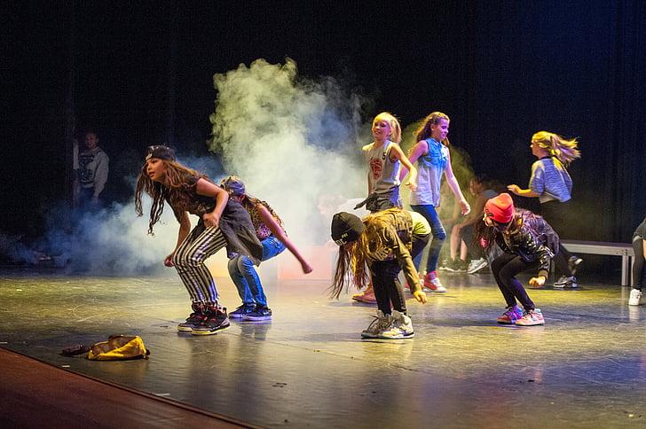 танець, HipHop, етап, брейк-данс, привабливі, люди, чоловіки