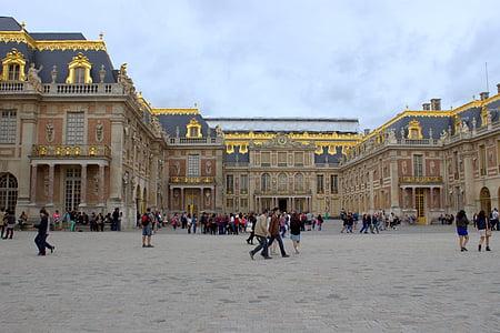 paris, france, versailles, palace, monument, architecture, landmark
