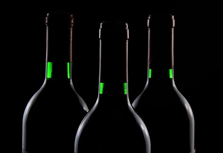 pudel, jook, veini, jook, alkoholi, alkohoolsed, joomine