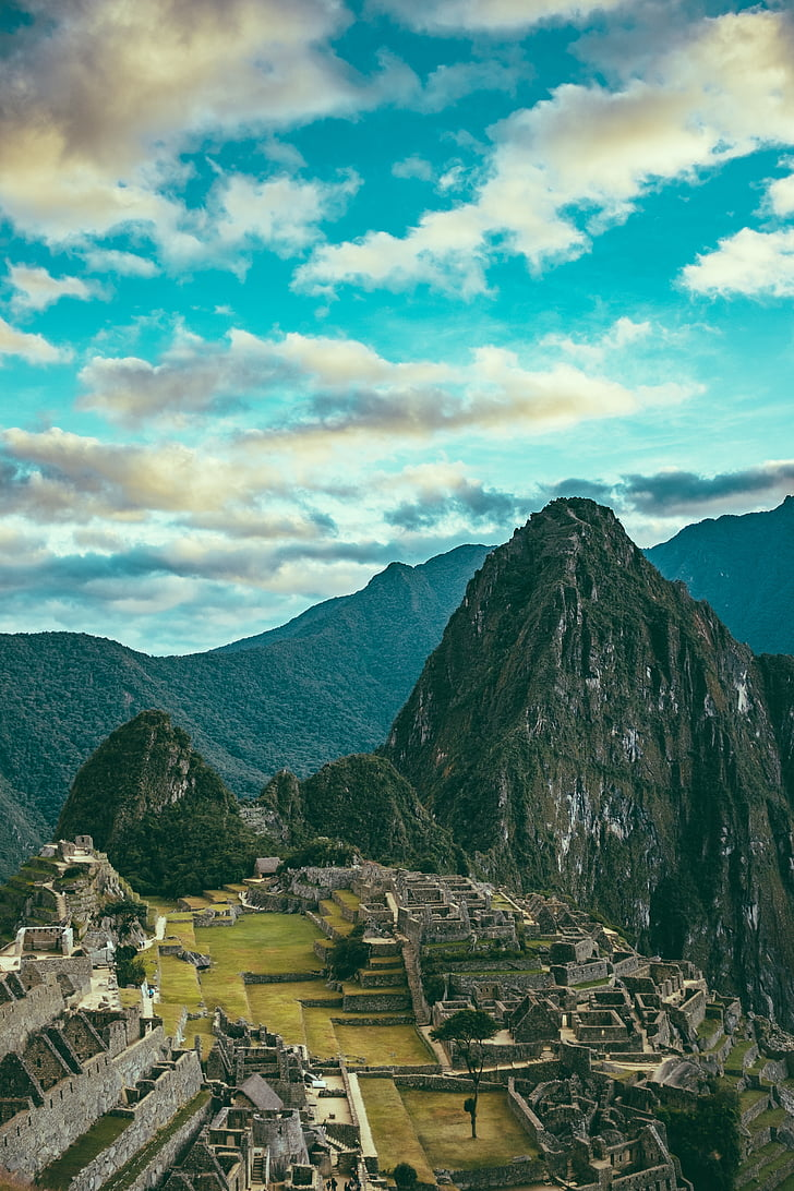 Free photo: cloud, landscape, machu picchu, mountain ...
