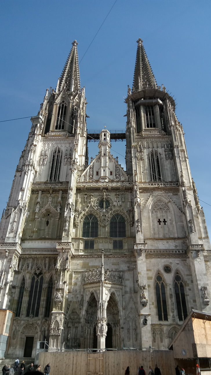 Regensburg, arkitektur, Tyskland, dom