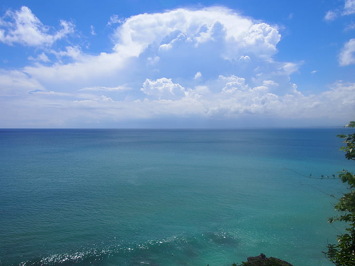 strand, kust, strand van Bali