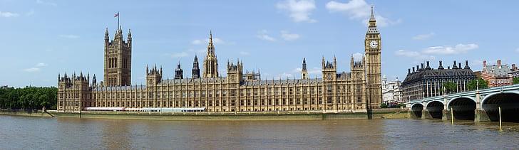 Lontoo, Westminster, parlamentin, Maamerkki, arkkitehtuuri, matkustaa, Iso