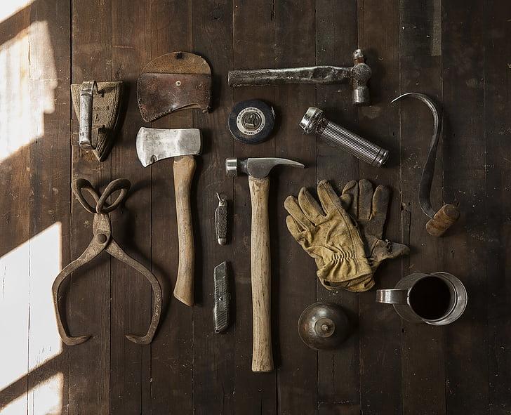 大工, 大工仕事, 建設, 機器, 修正プログラム, ハンマー, 整理