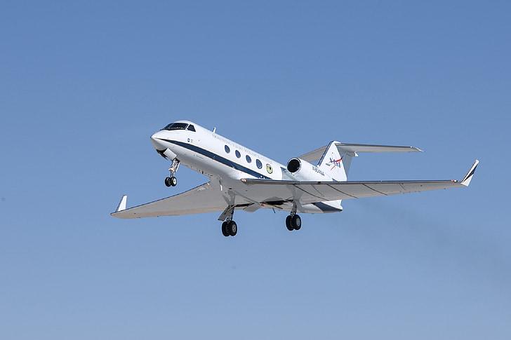 jet, private, gulfstream, g iii, aircraft, landing, sunny