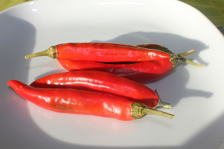 čili, čili paprika, Crveni
