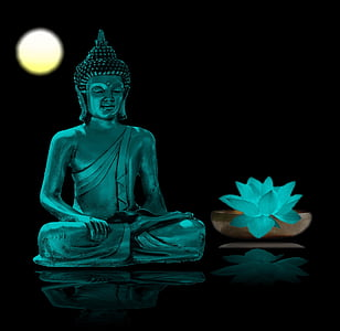 Buddha, meditáció, kikapcsolódás, meditálni, buddhizmus, wellness, belső nyugalom