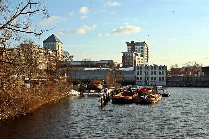 poort motieven, Bille, rothenburgsort, Hamburg, hamburgensien, watertoren, herfstdag