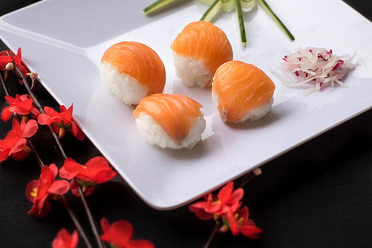 Sushi, Jaapani toit, Jaapani, kombineeritud, toidu, idamaine, Gastronoomia