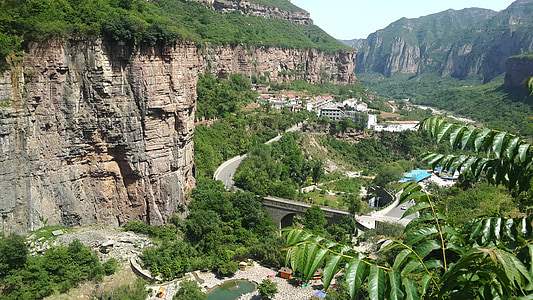 landscape, taihang mountains to the grand canyon, the scenery, mountain, nature, scenics, valley