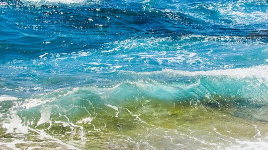 ona, bombolles, escuma, esprai, energia, l'aigua, esquitxades