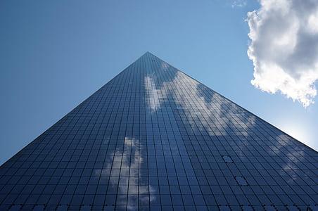 world trade center, skyscraper, new york city, city, skyscrapers, building, facade