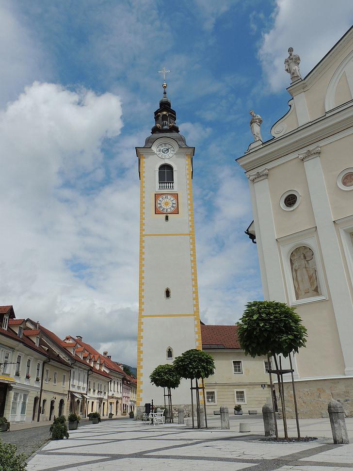 slovenia, city, kamnik, chapel
