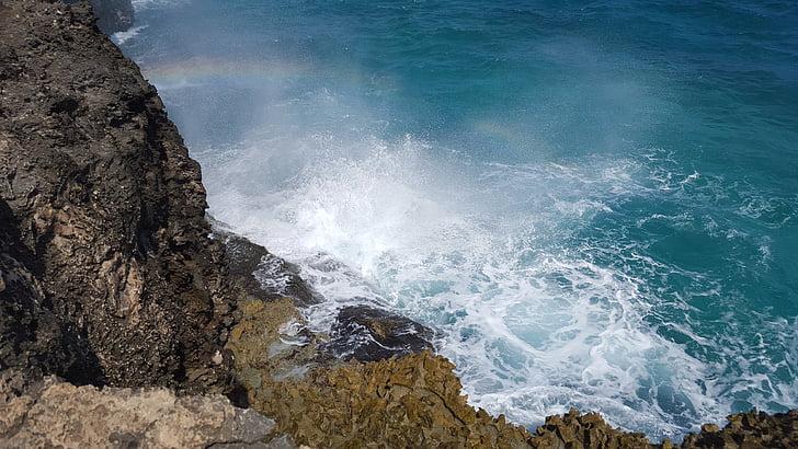 caribbean sea, santo domingo, caribbean, dominican republic, sea, nature, water