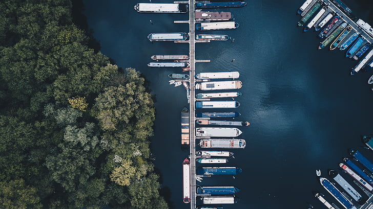 pathway, sea, ocean, water, boat, yacht, ship