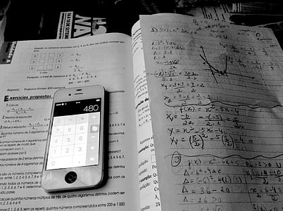 iphone, mathematics, study
