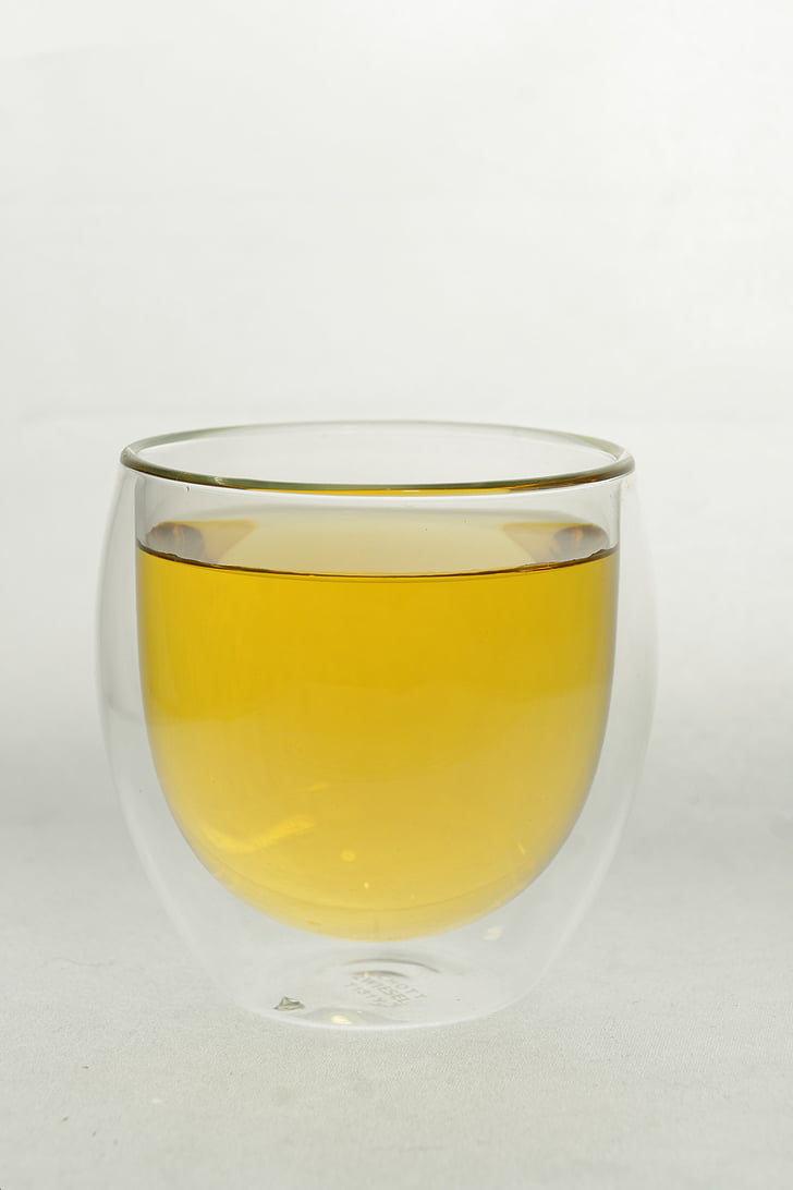 t, vidrio, bebida, delicioso, disfrutar de, hora del té, caliente