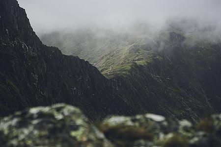 boira, muntanya, natura, muntanya rocosa