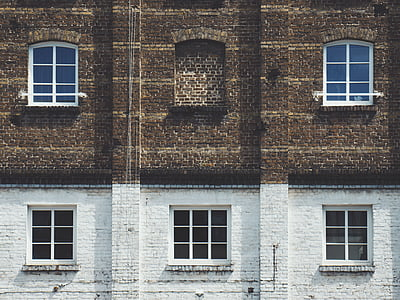 architecture, building, infrastructure, wall, window, facade, old