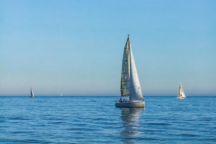 yacht, ocean, england, sailing, sailboat, sea, nautical Vessel