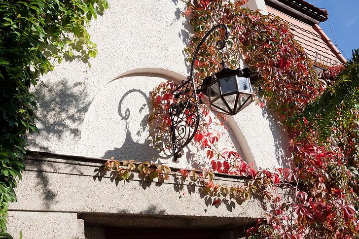 casa, il·luminació, l'entrada, soci vi, Làmpada, llum, llanterna