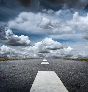 way, clouds, seat belts, direction, the way forward, cloud - sky, road