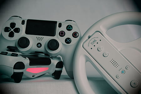 gaming, games, gamepad, ps4, playstation, console, controller