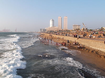 Colombo, Srí lanka, Beach