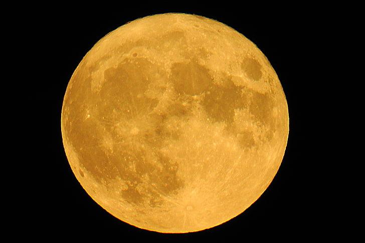 супер повний місяць 2016, місяць, Ache, місяць, земний місяць, Небесні тіла, Місячне сяйво