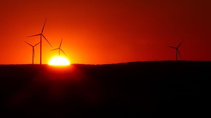 vēja parku, windräder, vēja enerģija, atjaunojamās enerģijas, enerģija, vides aizsardzības tehnoloģija, pašreizējais