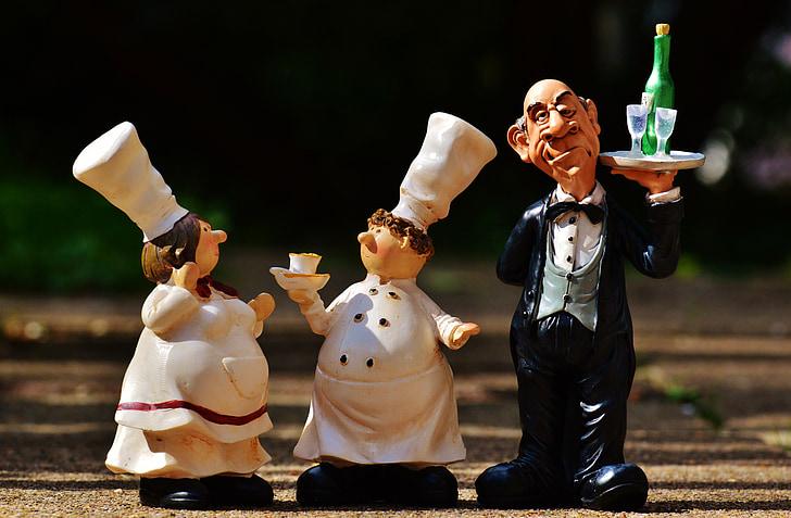 Butler, Tablett, Getränke, Wein, Champagner, Betrieb, Gastronomie