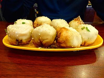 dumplings, empanadas, chinese cuisine, sesame, asian cuisine