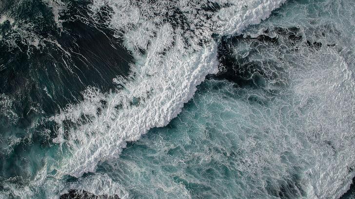 海, 海, 水, 波, 自然, 波, ブルー
