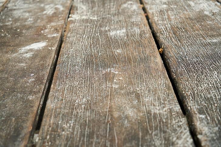 dřevo, dřevěný, staré, textura, pozadí, vzor, makro