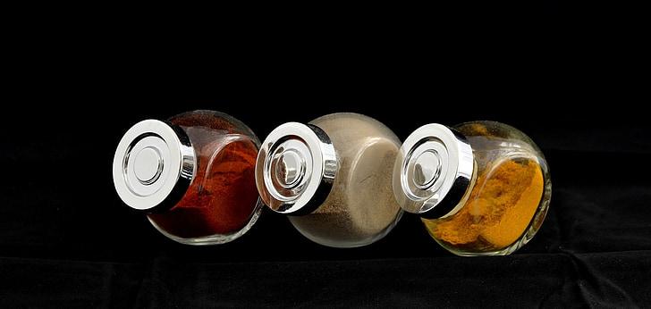 espècies, pebre vermell, curri, pebre, aliments, ingredient, Xile