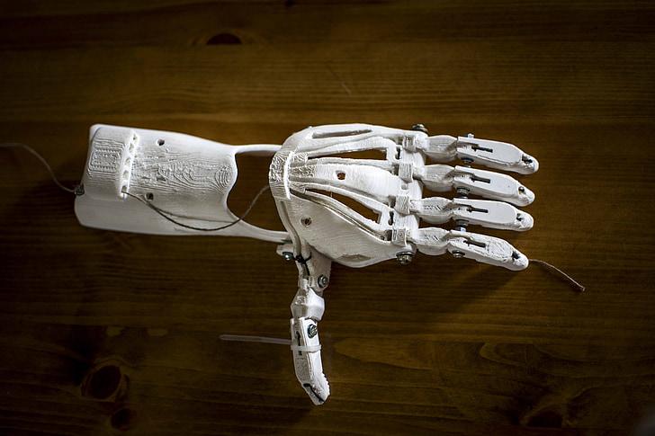 prostetic, proteza, 3d, print, druk, ręka, me