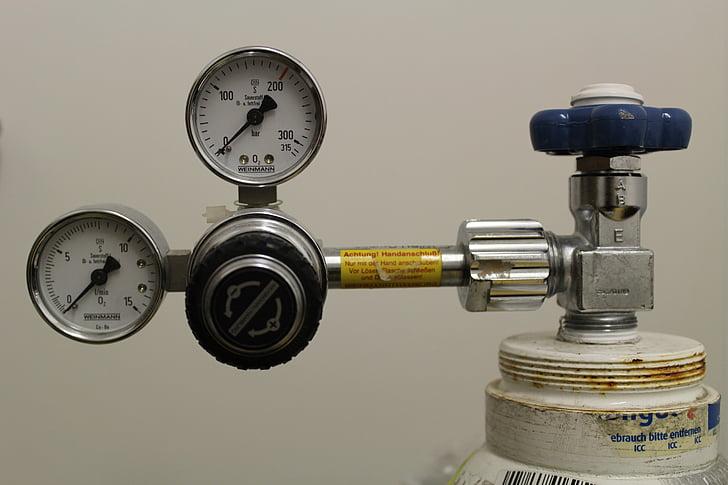 l'oxigen, oxigen lax, respiració artificial, aire comprimit, ampolla, Hospital, beamtmungsgerät