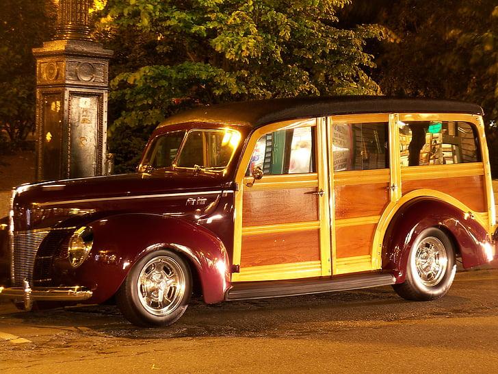 llenyosos, van, camió, cotxe, cotxes d'època, cotxes d'època, cotxe clàssic