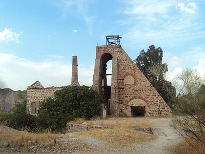 Linares, montera, Mine, gruvarbetare, landskap, Cabria