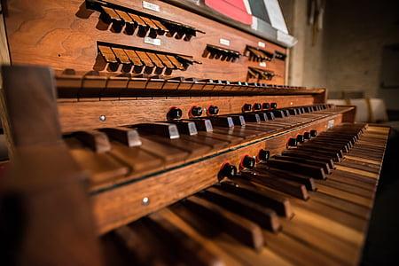 organų, Vamzdis, bažnyčia, muzika, priemonė, katedra, medienos