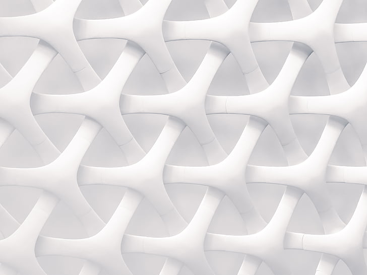 Art, disseny, patrons, arquitectura, blanc