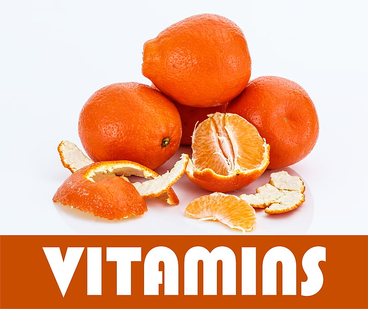 vitamines, orange, fruits, santé, une alimentation saine, nutrition, oranges