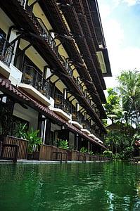otel, Havuzu, gölet, tatil, Resort, yüzme havuzları, gevşeme